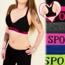 wholesale Lingerie & Underwear: 4087 CONVENIENT  STOP, BRA, boxer, Neon INSERTS