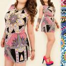 groothandel Kleding & Fashion: C11253 ZOMER  KLEDING, PLUS  GROOTTE, BAROKE ...