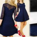 wholesale Fashion & Mode: C1141 flared  DRESS, SEXY Mesh, MIX