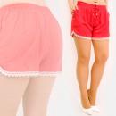 Großhandel Shorts: C17685 Sommershorts für Damen, Loose Fit, ...