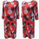 Großhandel Kleider: D4041 Kleid, Made in Poland, Plus Size 44-52