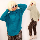 wholesale Pullover & Sweatshirts: A8113 Autumn Sweater With Loose Turtleneck, Classi