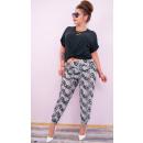 4275 Loose Pants,  Bamboo Fiber, Plus Size Patterns
