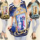 wholesale Shirts & Tops: 3820 TUNKA  OVERSIZE, ORNAMENT MOTION MIX