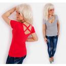 grossiste Vetement et accessoires: D26109 Pastel Top, un chemisier avec une belle enc