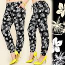 wholesale Trousers: C1712 LOOSE PANTS,  HAREMS, PLUS SIZE, TROPICS