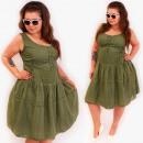 Großhandel Kleider: D1497 Holiday Women Dress, Übergröße, Bestickt