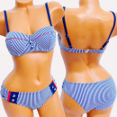 Großhandel Bademoden: 4623 Frauen Sommer Badeanzug, Capri Style