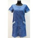 Großhandel Kleider: B349 DAMENKLEID VB-15395, VON 36 BIS 44