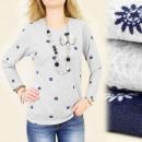 Großhandel Hemden & Blusen: C11110 LOSE BLUSE, TUNIKA, SEGELMUSTER