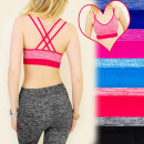 wholesale Lingerie & Underwear: 4086 SPORTS BRA  FOR FITNESS, TOP, CHARMING straps