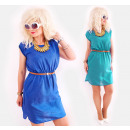 D1450 Summer Dress with Cotton, Loose and Chic