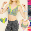 4084 GYM TRENDS: SEXY TOP, BRA voor fitness