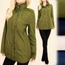 A28163 Könnyű, laza eső kabát, kabát, kabát