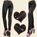 wholesale Jeanswear: 4068 glamorous  PANTS, SLIDERS, JEANS & ROLL