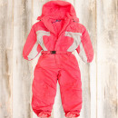 A1961 Winter Ski  Suit, Kids Overall, On Sledge
