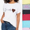 wholesale Fashion & Apparel: Women Shirt Up to 4XL,cotton , Leopard, 6038