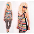 wholesale Shirts & Tops: BB175 Free,  Patterned Top Basic, Summer Time