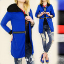 wholesale Coats & Jackets: BI307 LOOSE,  KNITTED JACKET, HOODIE, SLIDERS