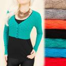 Großhandel Pullover & Sweatshirts: C22152 Durchbrochener Pullover, Bolero, ...