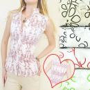 Großhandel Fashion & Accessoires: A1928 MODERNES  Hemd, Bluse, florale Dessins