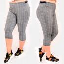 Großhandel Hosen: C17609 Komfortable Hose, Plus Size, Länge 3/4