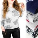 Großhandel Hemden & Blusen: C11462 Effektive Bluse, Große Größe, Ahornblatt