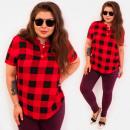 wholesale Shirts & Blouses: C11560 Lovely Blouse, Golden Buttons, Lattice