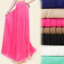 wholesale Skirts: A1913 ELEGANT maxi  skirt, pleated, FASHIONABLE