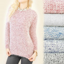 ingrosso Ingrosso Abbigliamento & Accessori: C11299 Maglione  alla moda, Peloso, Linea Classica