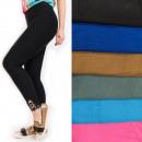 wholesale Trousers: Plus Size Colorful Leggings, L-5XL, Lace, 5122
