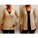 wholesale Pullover & Sweatshirts: D14109 Charming Openwork sweater, Golden Jets