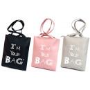 Großhandel Taschen & Reiseartikel: T44 Damen Tasche,  Handy Shopper, ich bin deine Tas