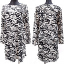 wholesale Fashion & Apparel: Women Dress, Patterned, Large Sizes, 52-56, 5614