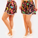 Großhandel Shorts: C17605 Sommer Frauen Shorts, Loose Fit, Hippie