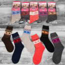 wholesale Stockings & Socks: Wool Women Socks, Reindeer, 35-42, 4920