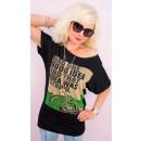 4565 Damesblouse, oversized shirt, goed idee