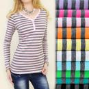 Großhandel Fashion & Accessoires: D2633 LOVELY TOP,  Bluse, schönes Dekolleté, Gürtel