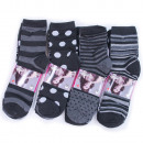 wholesale Stockings & Socks: Women Socks, cotton , Mix of Patterns 35-42, 4989