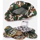 Großhandel Kopfbedeckung: C1927 Bequemer Hut, Tarnkappe, mit Netz