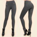 Großhandel Hosen: C17425 Elegante Hose aus Bambus Golden Sliders SA