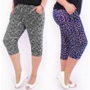 Cotton Women's Trousers 3/4 Length L-6XL, 5471