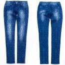 Großhandel Jeanswear: Damen Jeans Hosen, 25-30, Indisches Muster, B16872