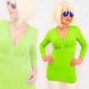 Großhandel Hemden & Blusen: 4591 Sommer Tunika, Bluse, tiefer V-Ausschnitt