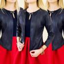 wholesale Coats & Jackets: G142 STYLE COAT,  JACKET, CHANELKA, LEATHER, GN
