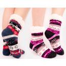 4360 Warm Socks, ABS Slippers, Winter Fur
