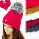 Großhandel Kopfbedeckung: FL654 Insulated Cap, Groß, Fell Pompon