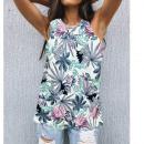nagyker Ruha és kiegészítők: Női blúz, nyári felső, Flowers L-4XL, 6619