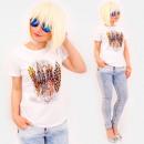 Großhandel Shirts & Tops: R90 schöne Frauen Top, Bluse, schöne Federn