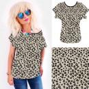 Großhandel Shirts & Tops: 4652 Baumwollhemd, Top, Animal Look, Flecken